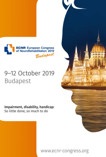 European Congress of NeuroRehabilitation 2019 in Budapest